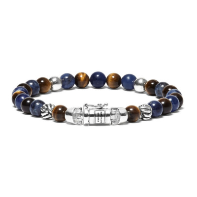 Buddha to Buddha Spirit Bead Mini Mix Sodalite Armband BTB189MS (Lengte: 19.00-21.00 cm)