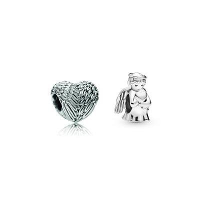 Pandora Moments Angel en Heart Bedel Set