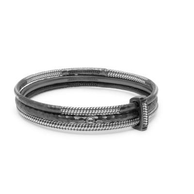 Buddha to Buddha 925 Sterling Zilveren Refined Dunia Armband 316