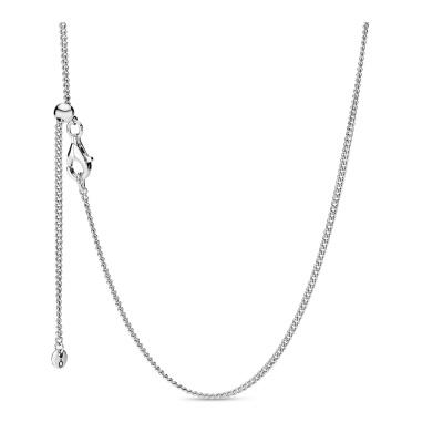 Pandora Stories 925 Sterling Zilveren  Ketting 398283-60 (Lengte: 60.00 cm)