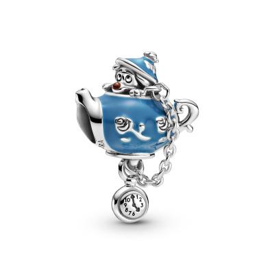 Pandora Disney x Pandora 925 Sterling Zilveren Alice in Wonderland Bedel 799345C01