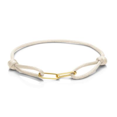 Isabel Bernard La Elysée Crème Satijnen Armband IB09001-03