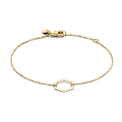 Isabel Bernard 14 Karaat Gouden Belleville Elena Single Armband IB320024