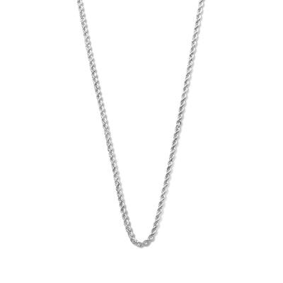 Isabel Bernard Saint Germain Violette 14 Karaat Wit Gouden Collier Twist IB340072