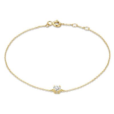 Isabel Bernard 14 Karaat Gouden Le Marais Loane Armband IB4017991 (Lengte: 16.50-18.50 cm)