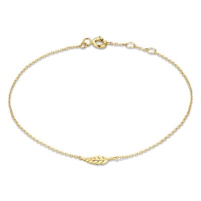 Isabel Bernard 14 Karaat Gouden Le Marais Amandine Armband IB4020136 (Lengte: 16.00-18.00 cm)