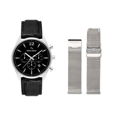 Mats Meier Grand Cornier Horloge En Strap Giftset MM90005