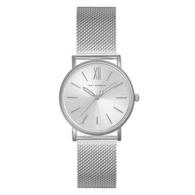 May Sparkle Bloom Girl Bloom Dahlia Zilverkleurig horloge MSB000