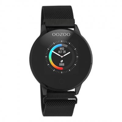 OOZOO Zwart Display Smartwatch (43 mm) Q00119