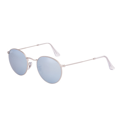 Ray-Ban Round zonnebril Matte Silver RB3447 019/30