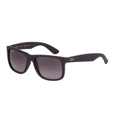 Ray-Ban Justin zonnebril Black Rubber RB4165 622/T3