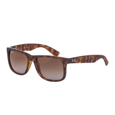 Ray-Ban Justin zonnebril Havana Rubber RB4165 865/T5