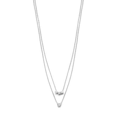 Selected Jewels 925 Sterling Zilveren Loïs Ketting SJ0210240 (Lengte: 45.00 cm)