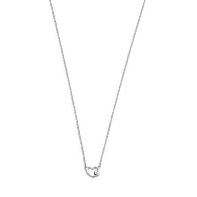 Selected Jewels Zirkonia Heart Ketting 1325704 (Lengte: 44 cm)