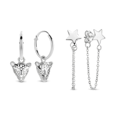 Selected Jewels 925 Sterling Zilveren Mila Cloé Earparty SJ402670002