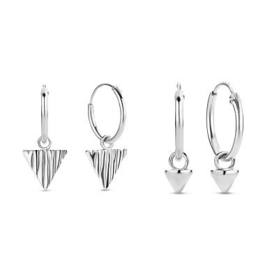 Selected Jewels Selected Gifts 925 sterling zilveren set oorbellen SJSET040236