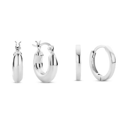 Selected Gifts 925 Sterling Zilveren Set Oorbellen SJSET380012