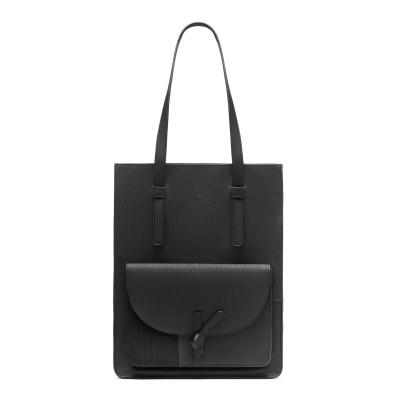 Violet Hamden Essential Bag Midnight Black Shopper VH25001