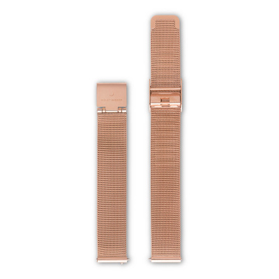 Violet Hamden Strap 14mm Evening Rosegold VH40118