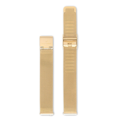 Violet Hamden Strap 12mm Grain Gold VH41003
