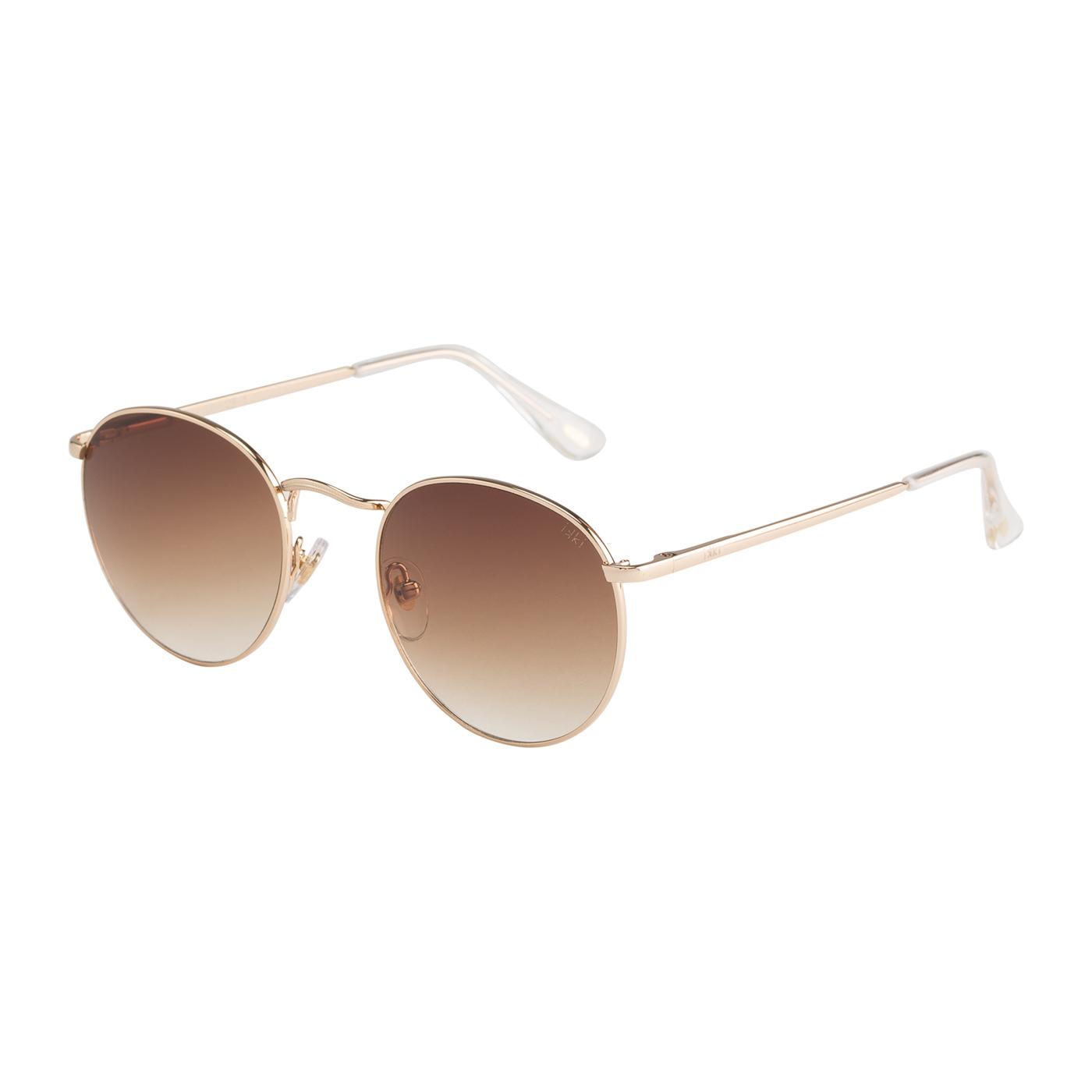 Artikel klicken und genauer betrachten! - Kauf die IKKI Easton Sonnenbrille Light Gold EASTON29-1 Sonnenbrille online in unserem webshop. Dies ist eine Damen und Herren-Sonnenbrille. Die Farbe des Gestells der Sonnebrille ist Gold und die Gläser sind Braun. Die IKKI Sonnenbrillen sinds echte Leichtgewichte und bieten daher einen optimalen Tragekomfort. An einer IKKI Easton Sonnenbrille Light Gold EASTON29-1 hast du jahrelang Freude. Wir sind offizieller Händler von IKKI Sonnenbrillen. Du erhältst darum auch die Standard-Garantie von 2 Jahre. Daneben bieten wir dir die Zeit, deine Sonnenbrille zu Hause in Ruhe anzuprobieren, und ggf. umzutauschen. Online eine Ray-Ban Sonnenbrille zu kaufen war noch nie so sicher. Diese sonnenbrille von IKKI wird kostenlos versendet ab 50 €.   im Online Shop kaufen
