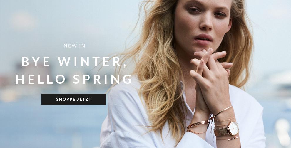 Bye winter, hello spring
