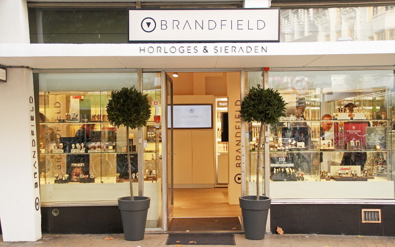 Brandfield laden